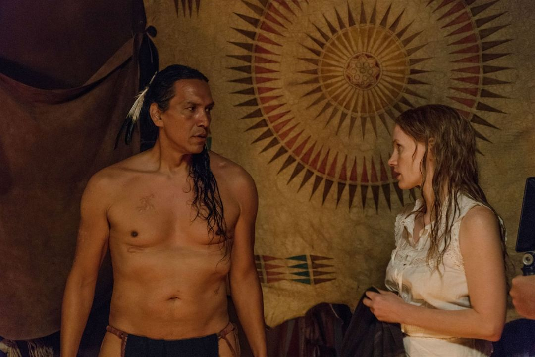 Woman Walks Ahead: Michael Greyeyes, Jessica Chastain