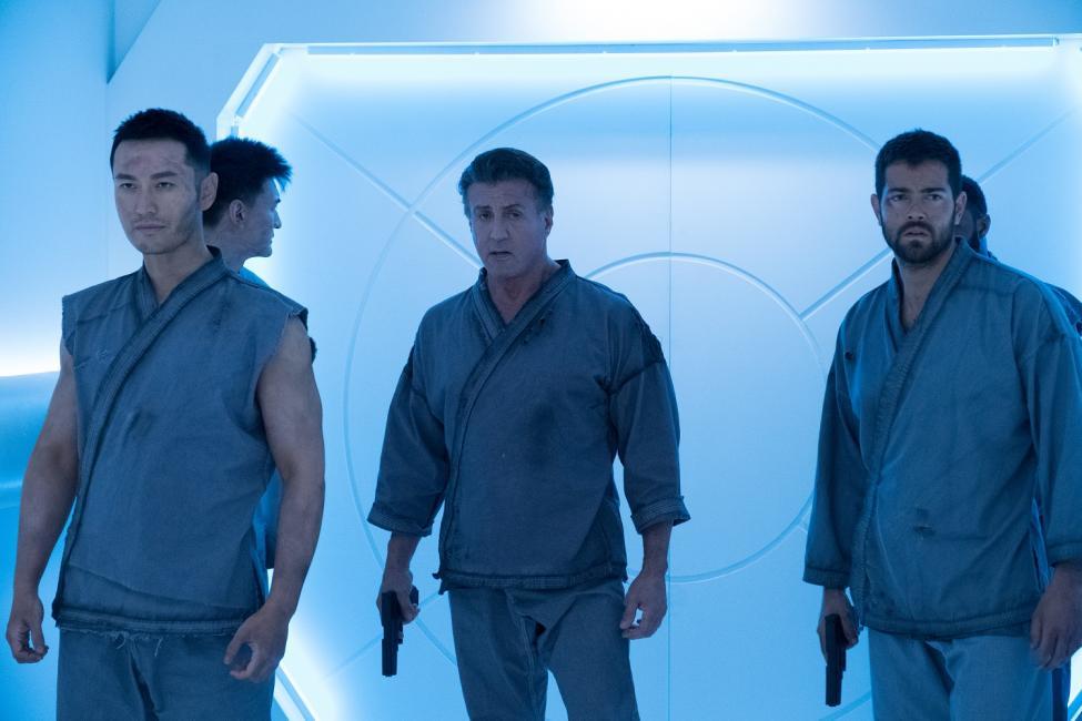 Evasion 2: Jesse Metcalfe, Xiaoming Huang, Sylvester Stallone