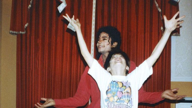 Leaving Neverland : Photo Jimmy Safechuck, Michael Jackson