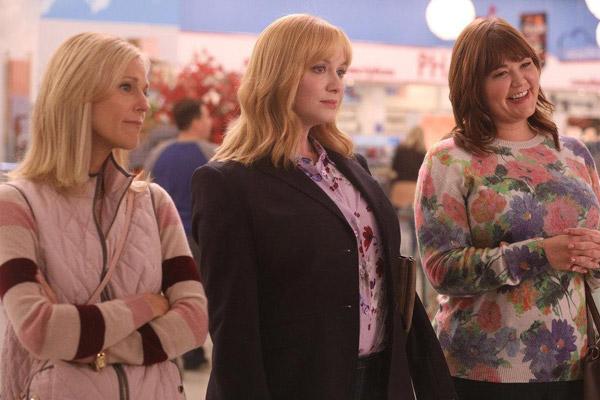 Photo Christina Hendricks, Mary Hollis Inboden, Tricia O'Kelley