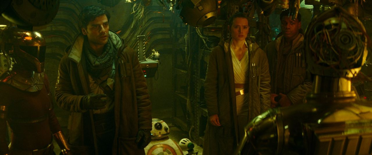 Star Wars: L'Ascension de Skywalker : Photo Daisy Ridley, John Boyega, Oscar Isaac