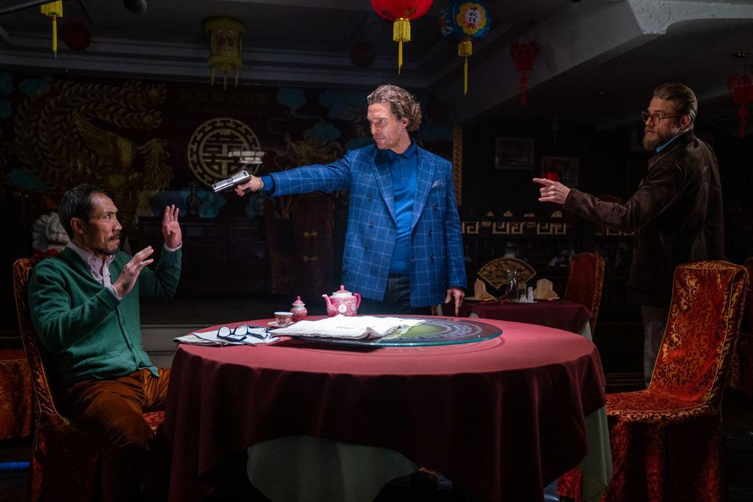 The Gentlemen: Tom Wu, Matthew McConaughey, Charlie Hunnam