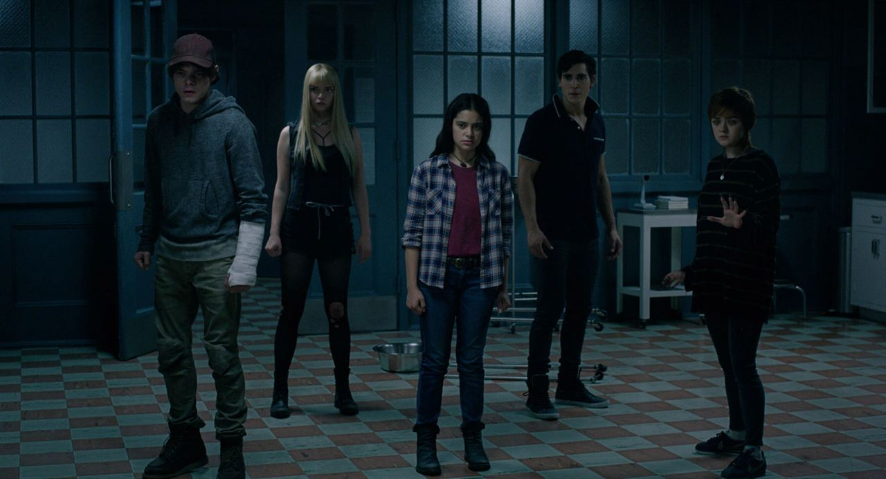 Les Nouveaux mutants : Photo Anya Taylor-Joy, Blu Hunt, Charlie Heaton, Henry Zaga, Maisie Williams