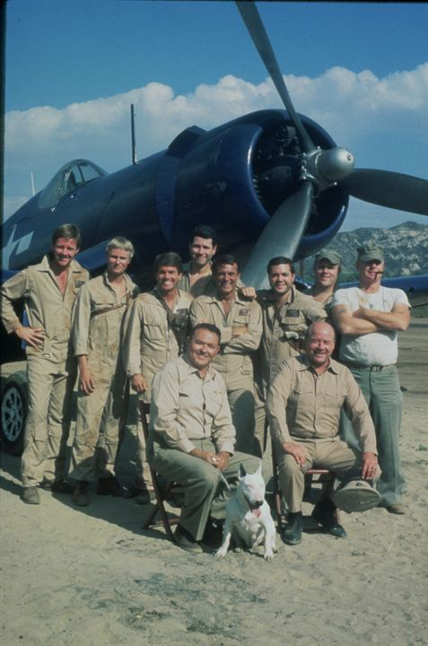 Photo Dirk Blocker, Jeff MacKay, Larry Manetti, Red West, Robert Conrad
