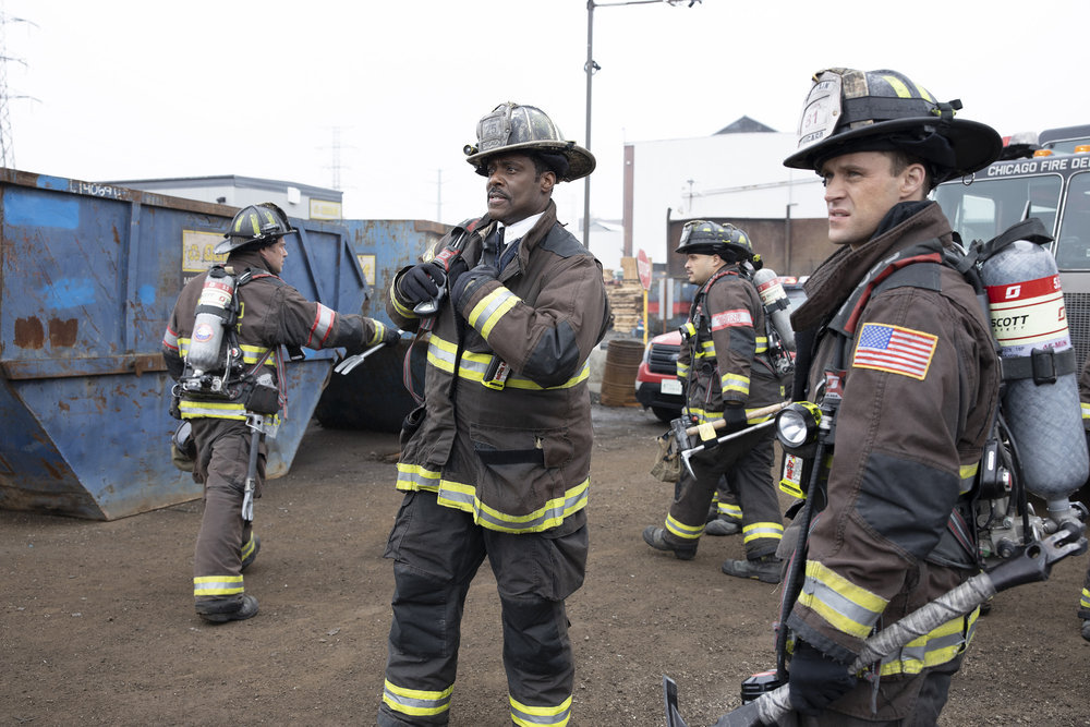 Photo Eamonn Walker, Jesse Spencer