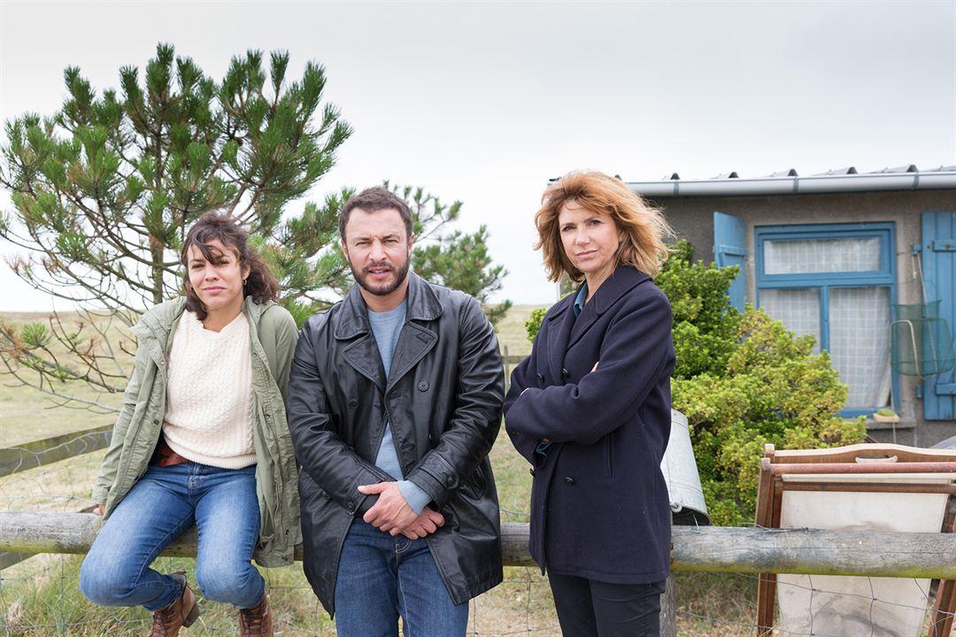 Meurtres à Granville : Photo Florence Pernel, Myriam Bourguignon, Raphaël Lenglet