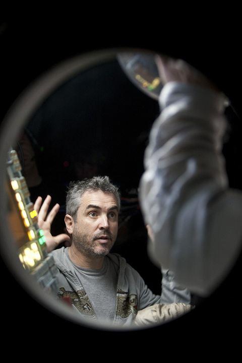 Gravity : Photo Alfonso Cuarón