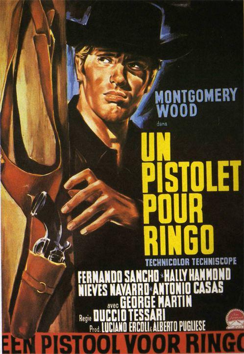 Un pistolet pour Ringo : Affiche