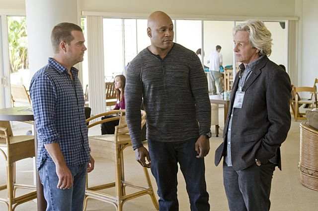 Photo Chris O'Donnell, LL Cool J, William Russ