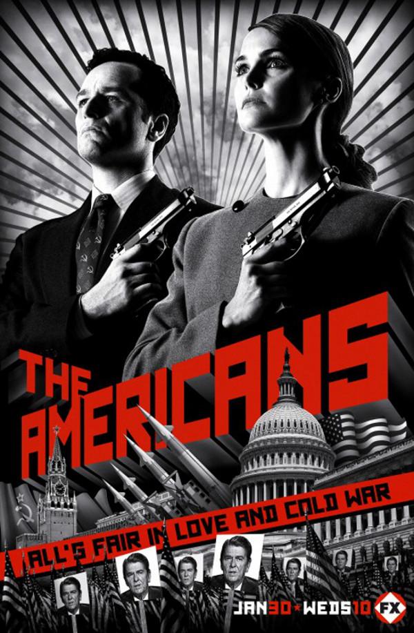Affiche de la série The Americans (2013)