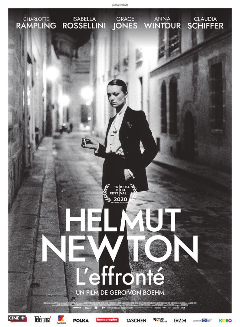 Affiche du film documentaire Helmut Newton L'effronté
