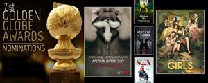 Les nominations Séries pour les Golden Globes 2014