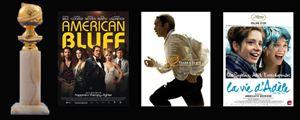 Golden Globes 2014 : les nominations ciné !