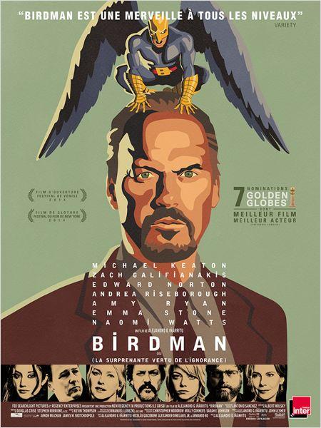 Birdman : Affiche