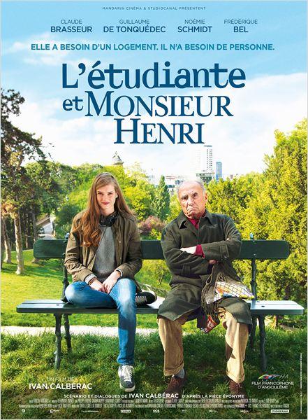L'Etudiante et Monsieur Henri : Affiche