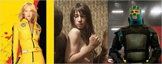 "Mêmes sagas... mais interdictions différentes : ""Nymphomaniac 1 & 2"", ""Kill Bill 1& 2"", ""Saw 2 & 3"""